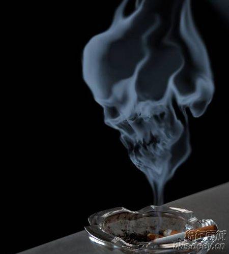 香烟的创意